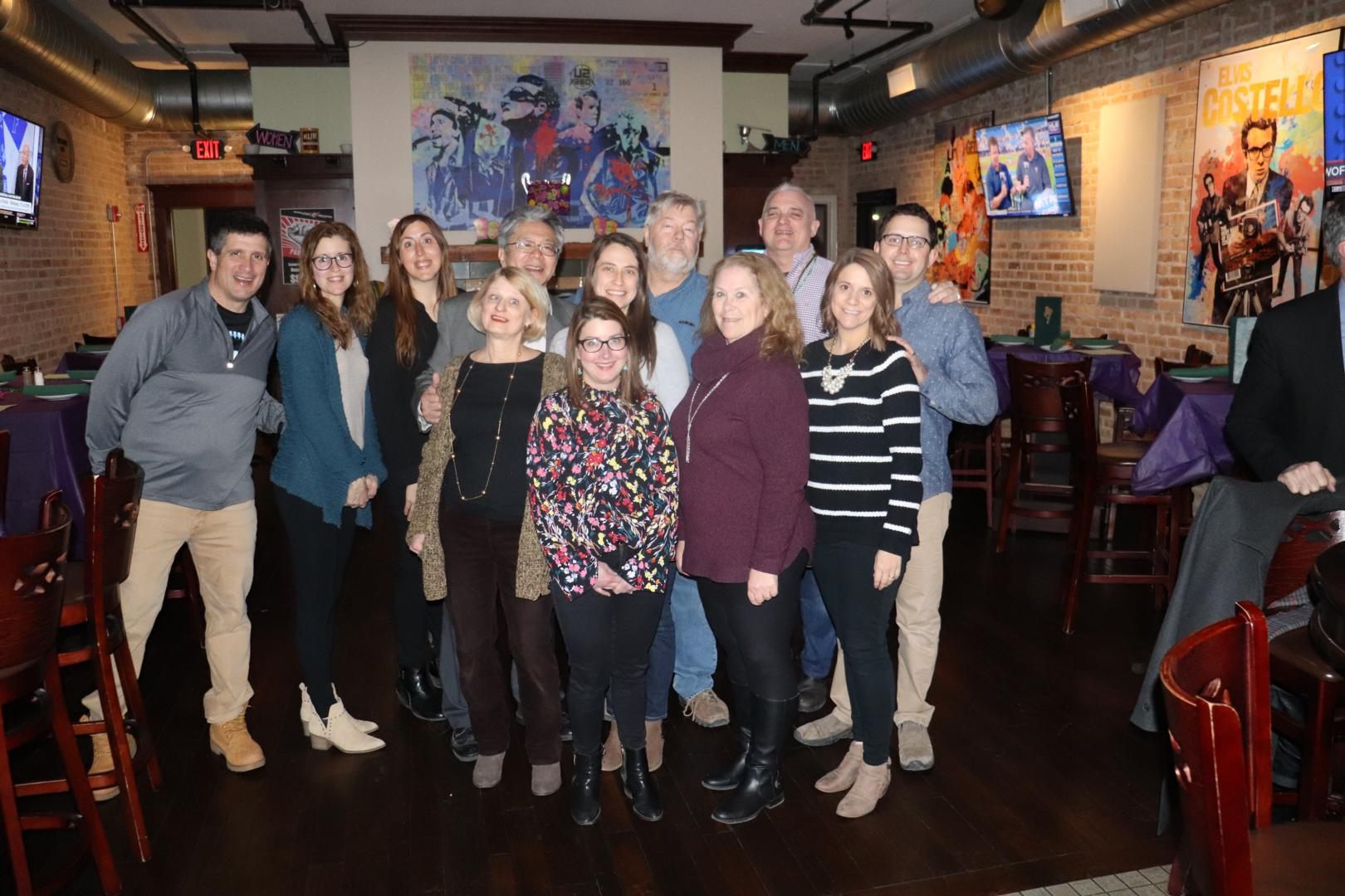 Avenues celebrates Fat Tuesday at Harp and Fiddle in Park Ridge