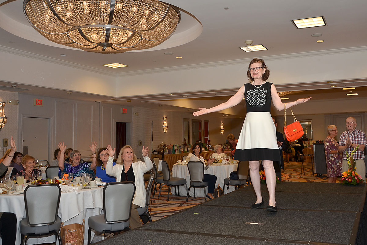 Avenues Tea & Fashion show models strut to success!