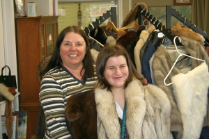 Avenues volunteer Anita Hornbrook at the Avenues Thrift Shoppe