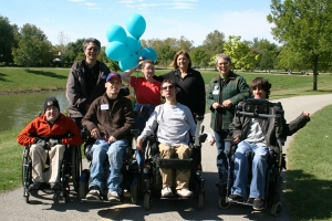 Our Walk and Roll Fundraiser group